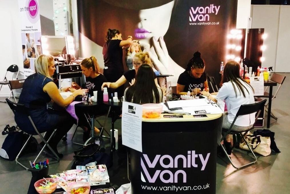 Vanity Van public exhibition