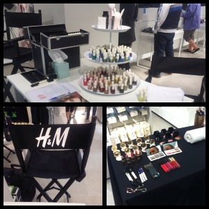 H&M tour activation salon