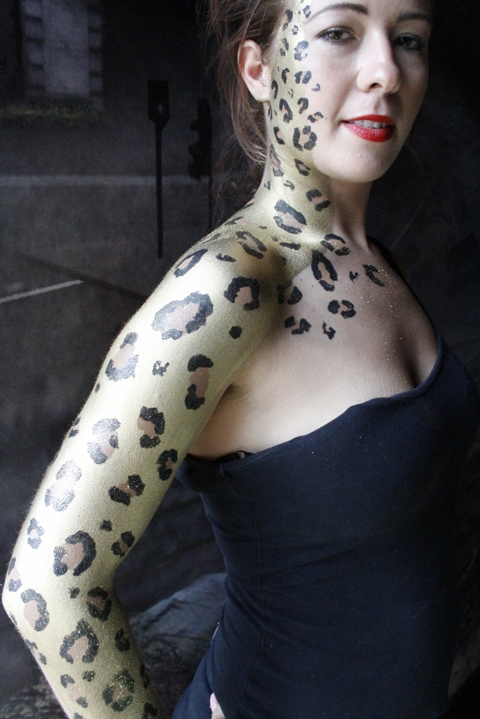 creative face & body art body painting