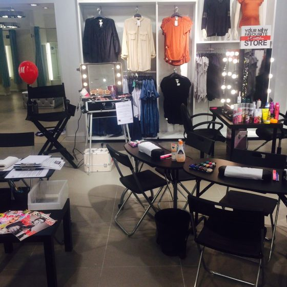 hm-newcastle-customer-reward-retail-salon-set-up