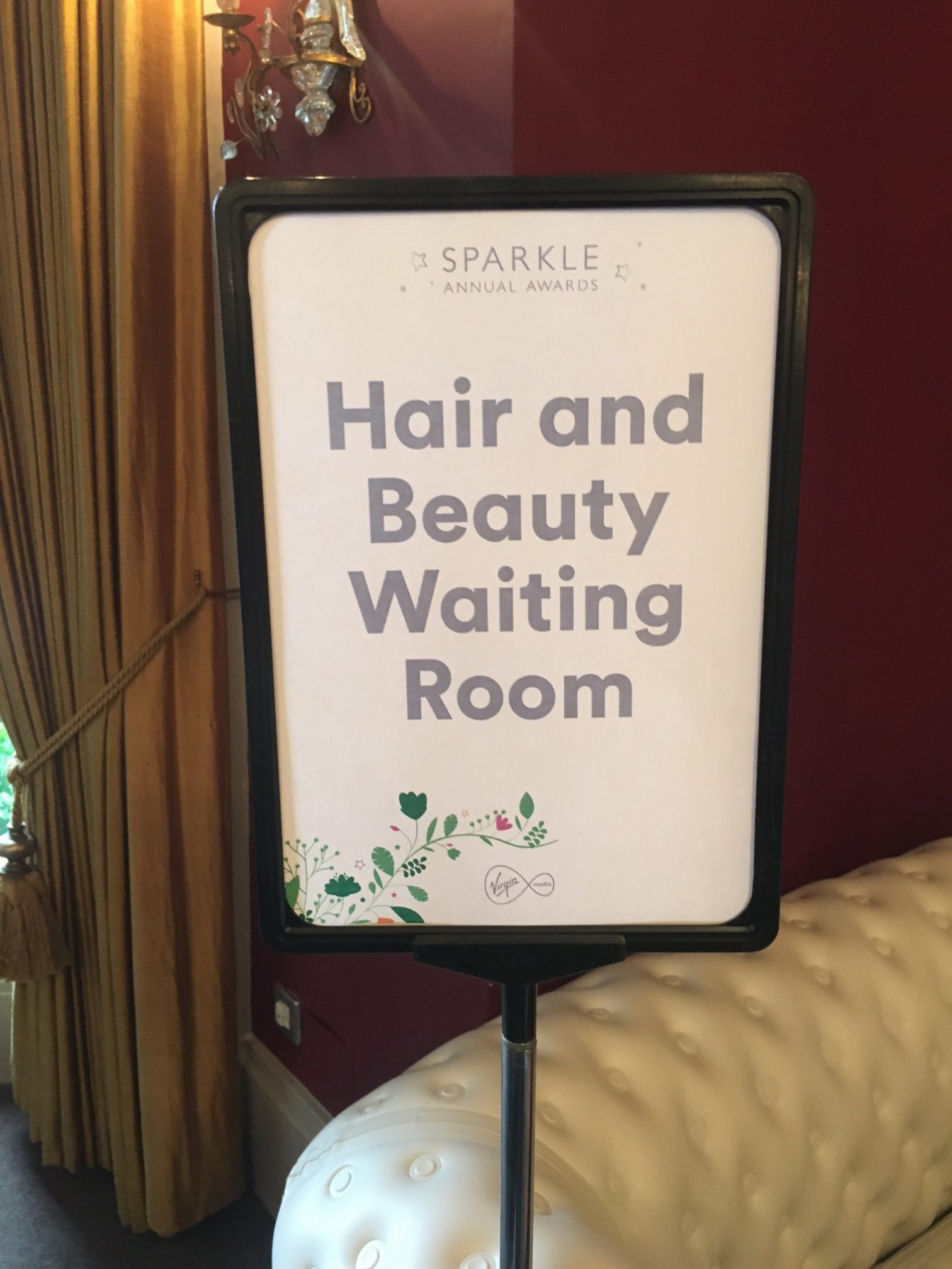 Staff rewards mobile salon hair and beauty