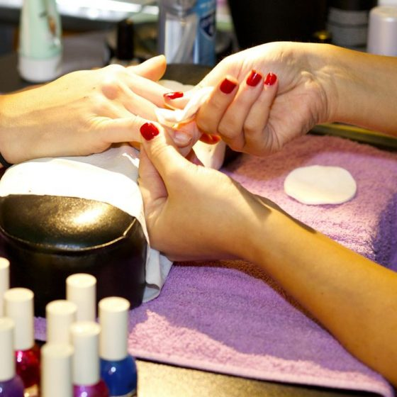 packages mobile pop up salon manicure