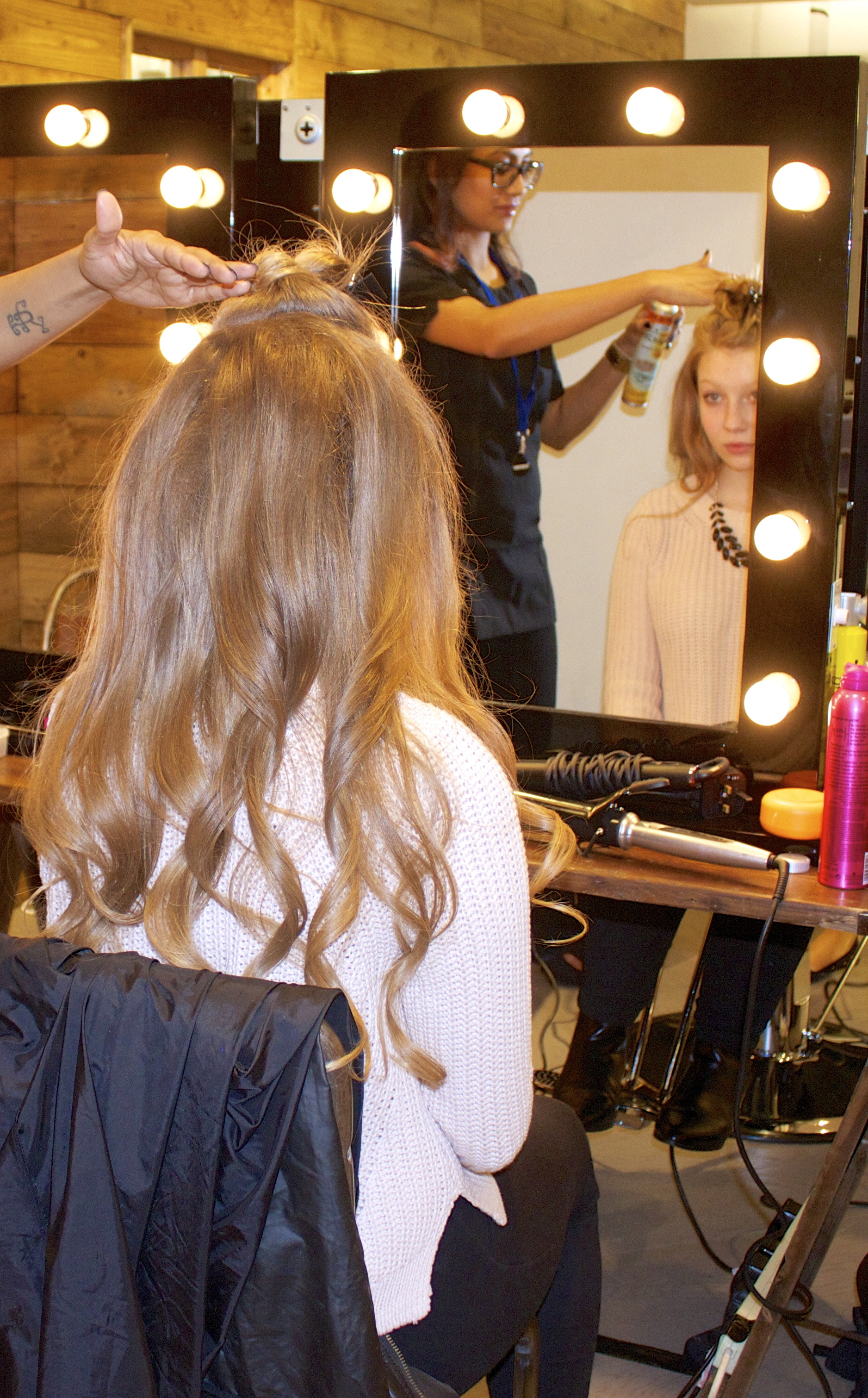 in-store retail campaigns pop up salon hairdressing