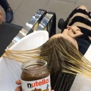 nutella hair dye easter chocolate beauty trends