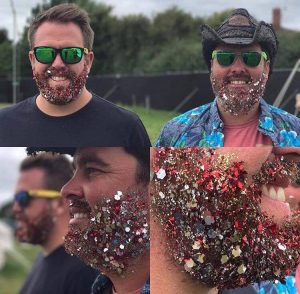 Glitter Beards Glasonbury