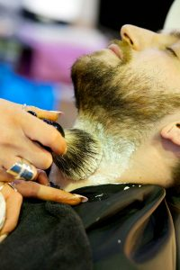 Male grooming wet shave