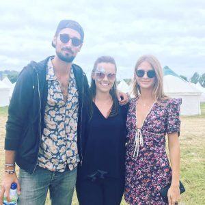 Millie Mackintosh Hugo Taylor Glastonbury 2017