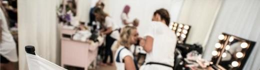 pop up salon for Glastonbury festival