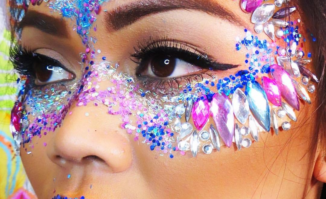 festival face and body gems