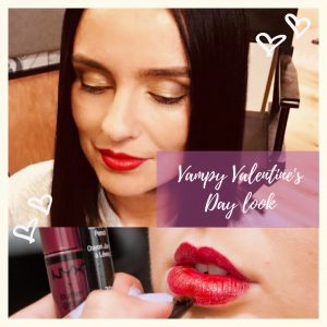 Valentine's Day Vampy Look