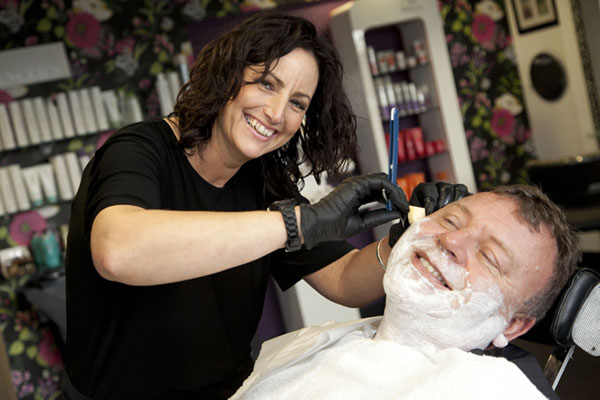male grooming treatments wet shave