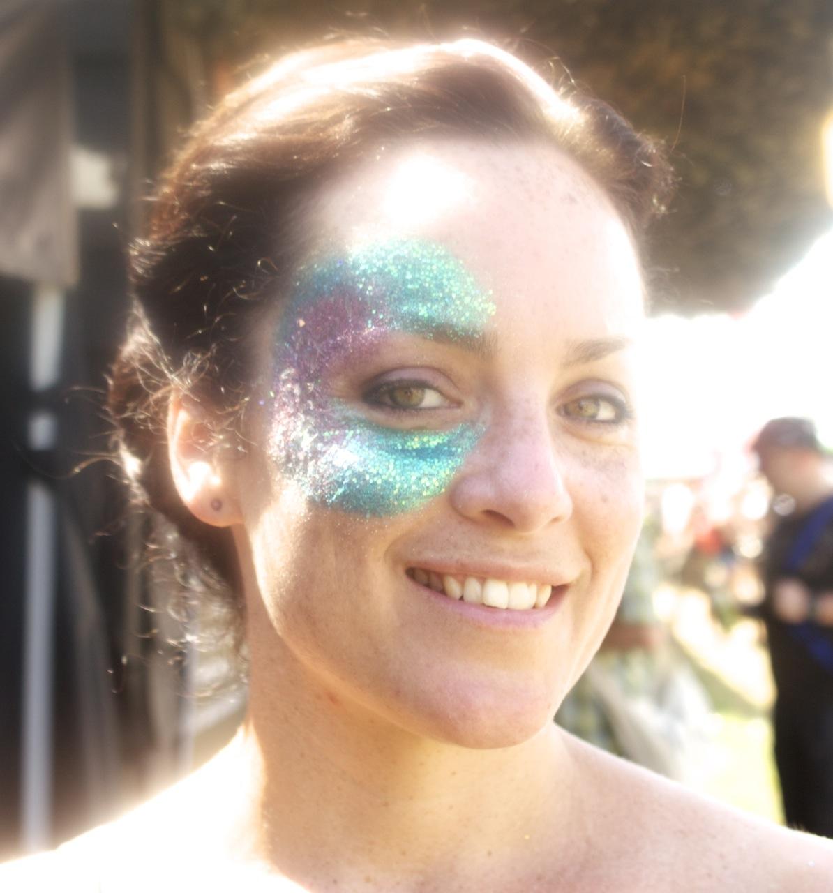 Vanity van Glitter makeovers
