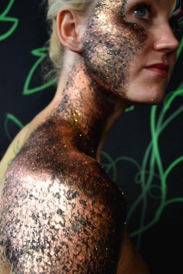 Vanity van body art experiment