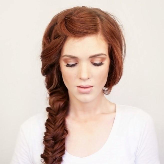 Vanity van hair style side braid