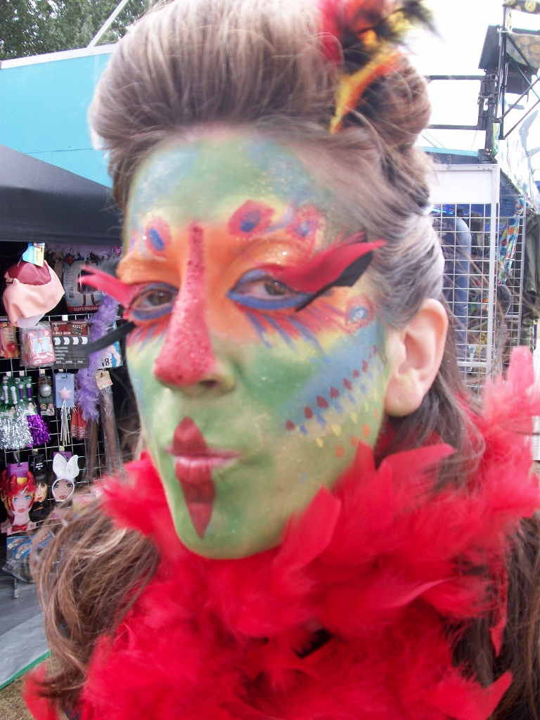 face & body art creative face paint