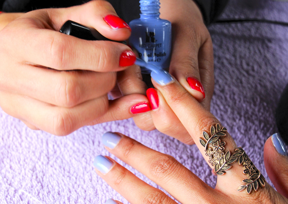 treatments nails mobile beauty events