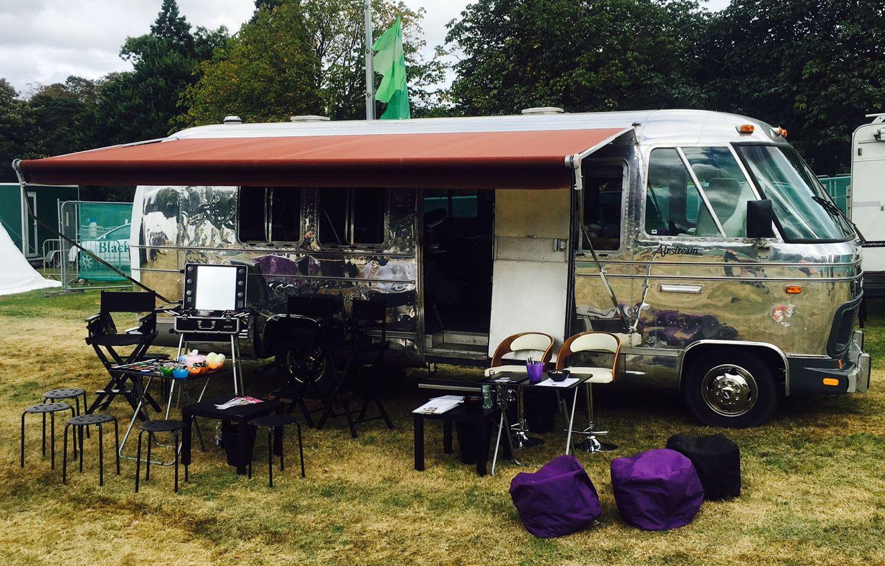 Vanity Van airstream mobile salon