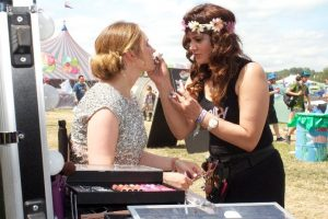 Glastonbury Festival Makeup